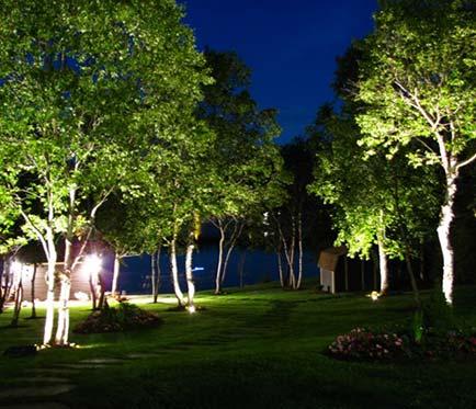 public park landscape lighting project Victoria BC